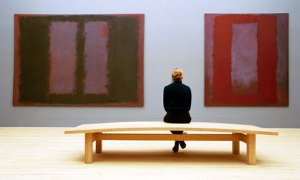 Two paintings in the Tate Rothko Room
